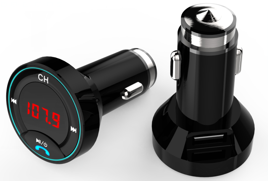Bluetooth FM Transmit Car Charger